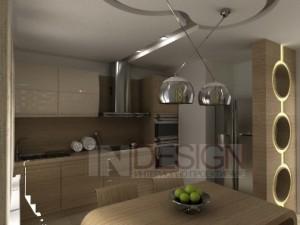 интериорен дизайн на етаж от къща