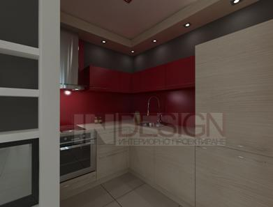 интериорен дизайн на къщата 115 кв.м.
