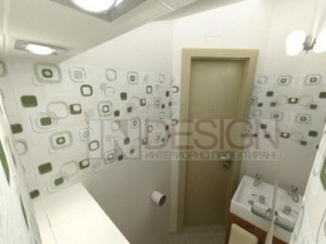 интериорен дизайн на тоалетна