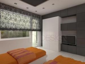 интериорен дизайн на спалня