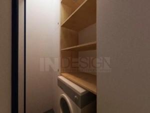 интериорен дизайн на перално помещение