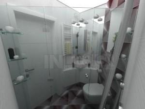 интериорен дизайн на баня