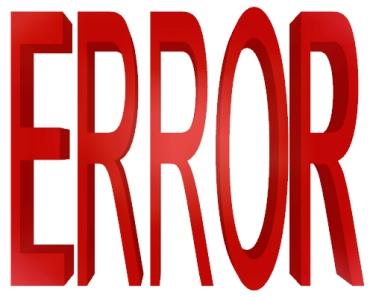 Error10те най-груби грешки