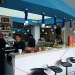 Снимки от откриването на бар Bizone