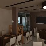 интериорен проект на хотел Регата