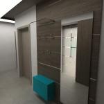 Интериорен дизайн на апартамент с площ 76