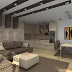 Дизайн на част от апартамент