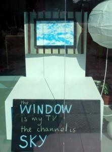 От телевизора към небето