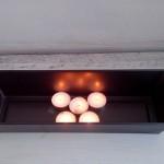 отопление със свещи
