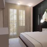 Спалнята е малка, но с търсен стил и уют